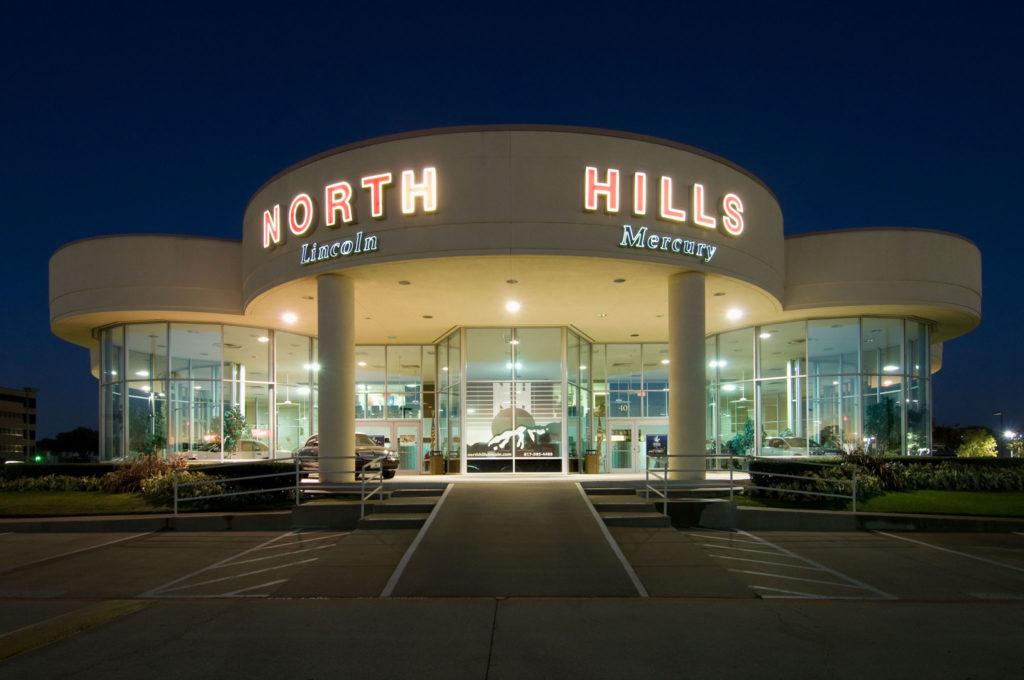 north hills Lincoln dealership builder